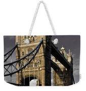 Tower Bridge Weekender Tote Bag by David Pyatt
