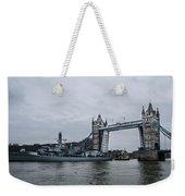 Tower Bridge Open Weekender Tote Bag