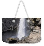 Tower Fall Of Yellowstone Weekender Tote Bag