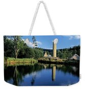 Tower Near A Lake, Round Tower, Ulster Weekender Tote Bag