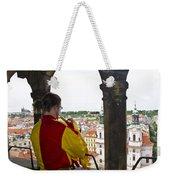 Tower Trumpeter - Prague Weekender Tote Bag
