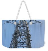 Towers And Lines Weekender Tote Bag