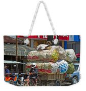 Towing A Big Load Weekender Tote Bag