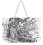 Town Meeting, 19th Century Weekender Tote Bag