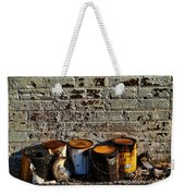 Toxic Alley Grunge Art Weekender Tote Bag