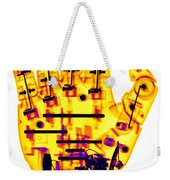 Toy Robotic Hand X-ray Weekender Tote Bag