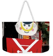 Toy Soldier Christmas In Virginia City Weekender Tote Bag