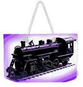 Toy Train Weekender Tote Bag