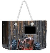 Tractor And The Barn Weekender Tote Bag