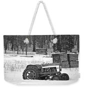Tractor At The Mill  Weekender Tote Bag