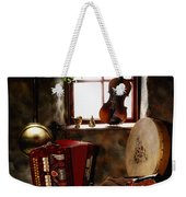 Traditional Musical Instruments, In Old Weekender Tote Bag