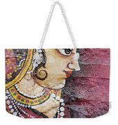 Traditional Painting On A Wall Jodhpur Weekender Tote Bag