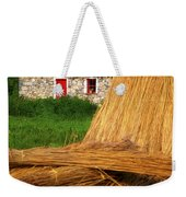 Traditional Thatching, Ireland Weekender Tote Bag