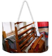 Traditional Weavers Loom Weekender Tote Bag