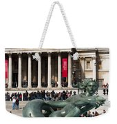Trafalgar Square With Fountain Weekender Tote Bag