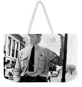 Traffic Cop, 1936 Weekender Tote Bag