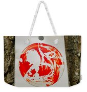 Trail Art - Fish Bowl Weekender Tote Bag