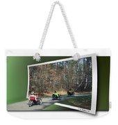 Trail Of Trikes Weekender Tote Bag