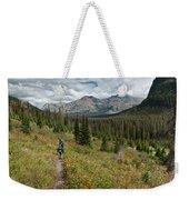 Trail Through Bear Country Weekender Tote Bag