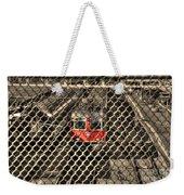 Train Behind A Fence Weekender Tote Bag