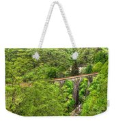 Train Bridge Weekender Tote Bag