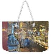 Train Galley Weekender Tote Bag