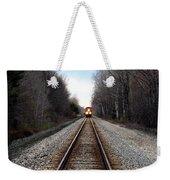 Train Head On Weekender Tote Bag