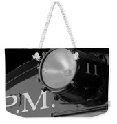 Train Headlight Weekender Tote Bag