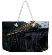 Train Lights Weekender Tote Bag