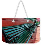 Train Station Waiting Area Weekender Tote Bag