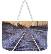 Train Tracks And Color 2 Weekender Tote Bag