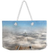 Train Tracks Into The Clouds Weekender Tote Bag