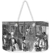 Train Travel: First Class Weekender Tote Bag