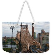 Tram View East Weekender Tote Bag