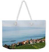 Tranquil Lake Geneva Weekender Tote Bag
