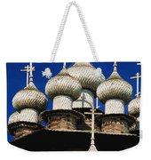 Transfiguration Cathedral On Kizhi Weekender Tote Bag