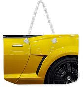 Transformers Camaro Weekender Tote Bag