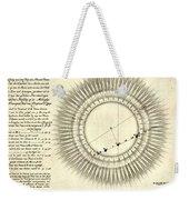 Transit Of Venus, 1761 Weekender Tote Bag by Science Source