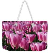 A Field Of Translucent Tulips Weekender Tote Bag