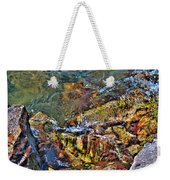 Transparent Tranquility  Weekender Tote Bag