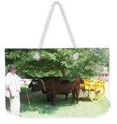 Transportation. Colonial Williamsburg. Virginia Weekender Tote Bag