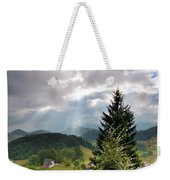 Transylvania Landscape - Romania Weekender Tote Bag