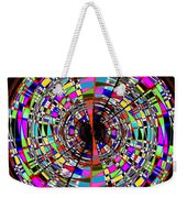 Trapped In The Vortex Weekender Tote Bag