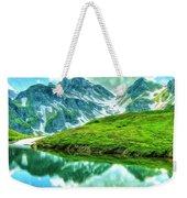 Travelers Rest Swiss Alps Weekender Tote Bag