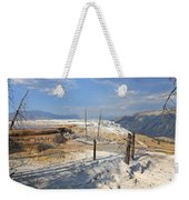 Travertine Limestone Terraces Weekender Tote Bag