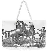 Treading Corn, 1833 Weekender Tote Bag by Granger
