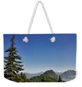 Tree And A Panoramic View Weekender Tote Bag