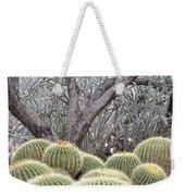 Tree And Barrel Cactus Weekender Tote Bag