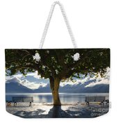 Tree And Benches Weekender Tote Bag