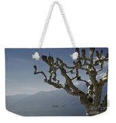 Tree And Mountain Weekender Tote Bag